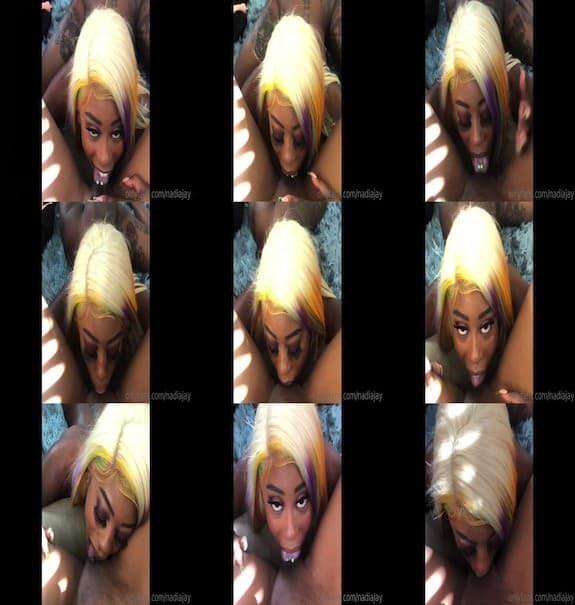 NADIA JAY - Her tongue felt so good