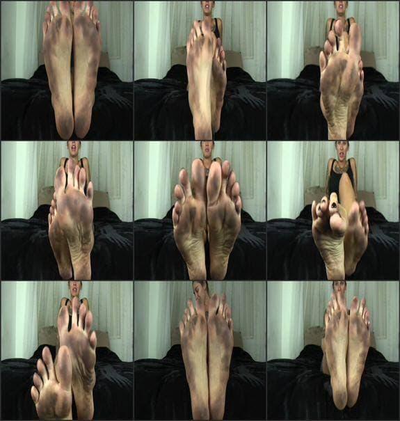 Kleio Valentien - dirty foot fetish
