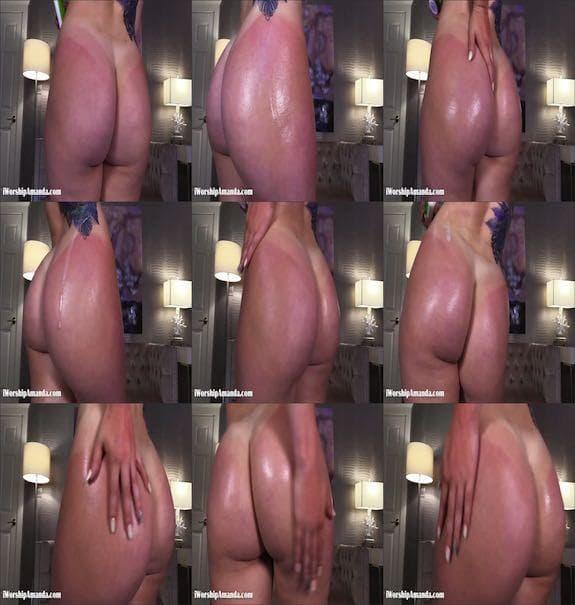 Goddess Amanda - Lotion for My Sunburned Bubble Butt