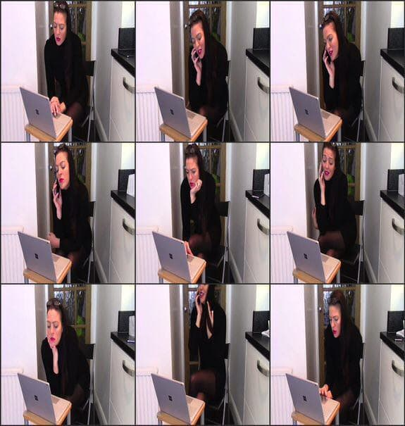 EvaMarie88 - farting in office excuse me 2018/06/20