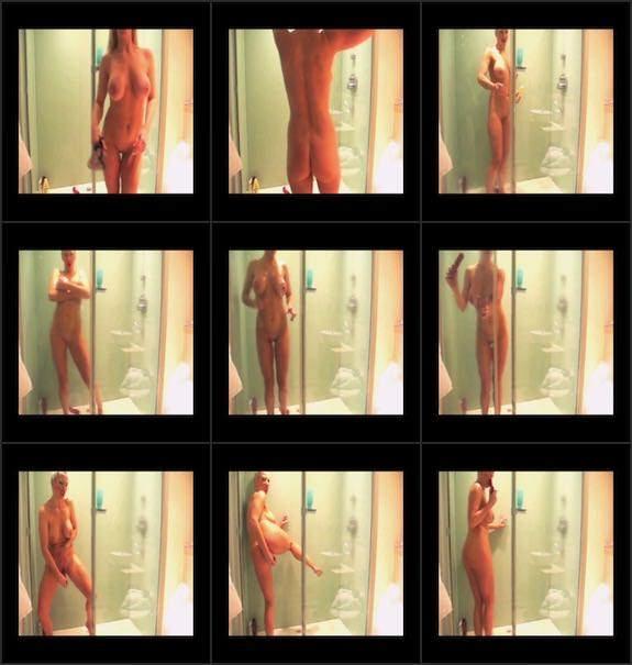 Rebecca More - power shower slut