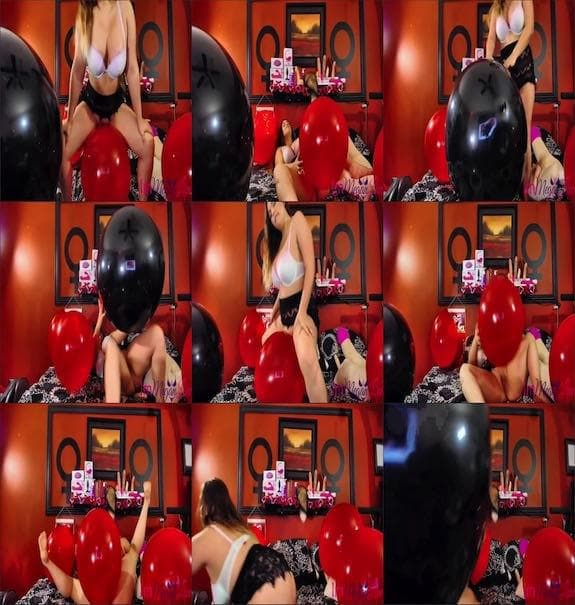 ImMeganLive - Getting Hot with Balloons