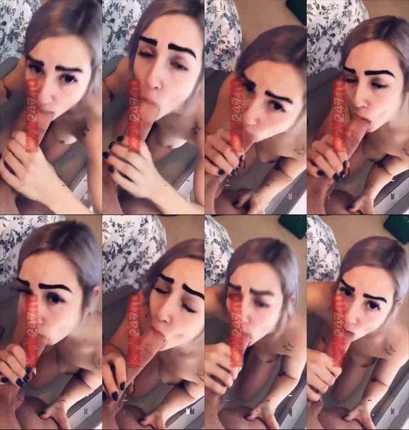Mia Screams quick snaps during blowjob snapchat premium 2019/05/12