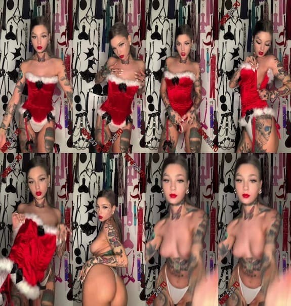 [Club] Taylor White - SANTA BABY STRIP TEASE