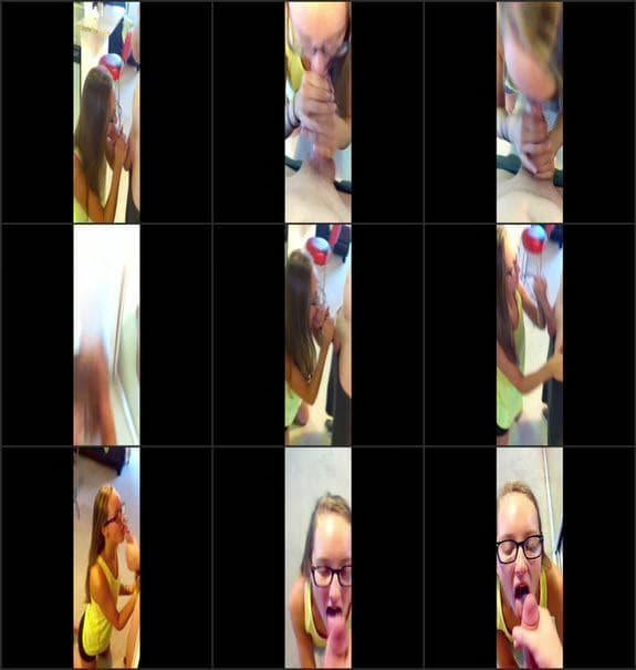 Haley Love - 18 year old my first bj video cumshot 2017/08/11