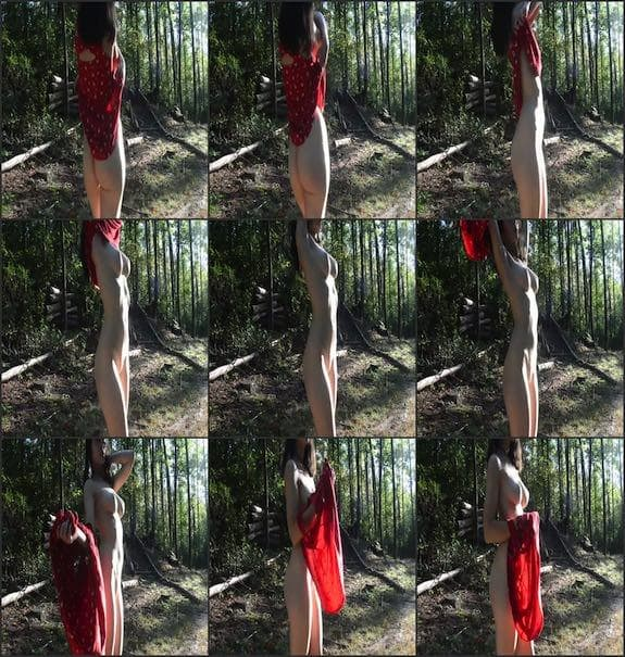 Sexy Flower Water - red dress undressing 2017/09/20