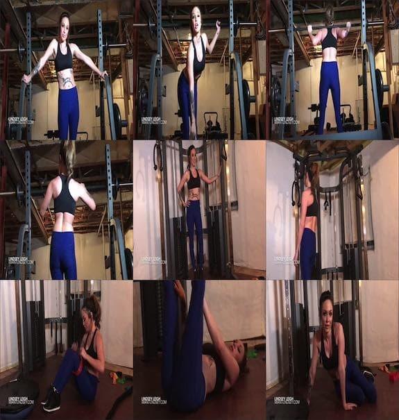 Lindsey Leigh - Lindsey's Gym Fantasy