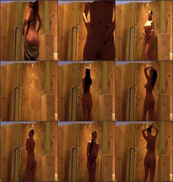 Sophie Dee - shower stream