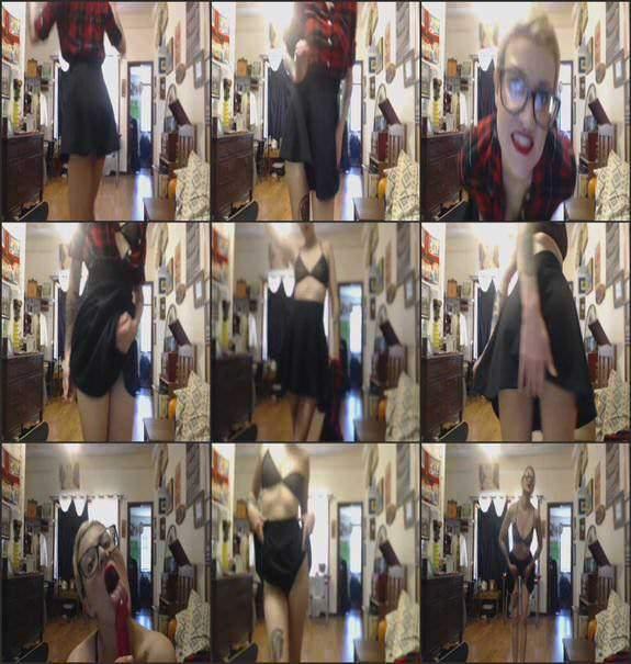 Lexi DollFace - alt j strip tease 2018/03/01