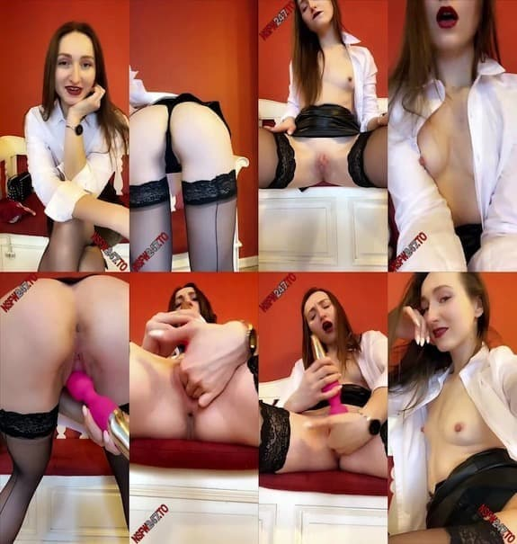 Kara Kapri stockings & pussy play snapchat premium 2020/04/02