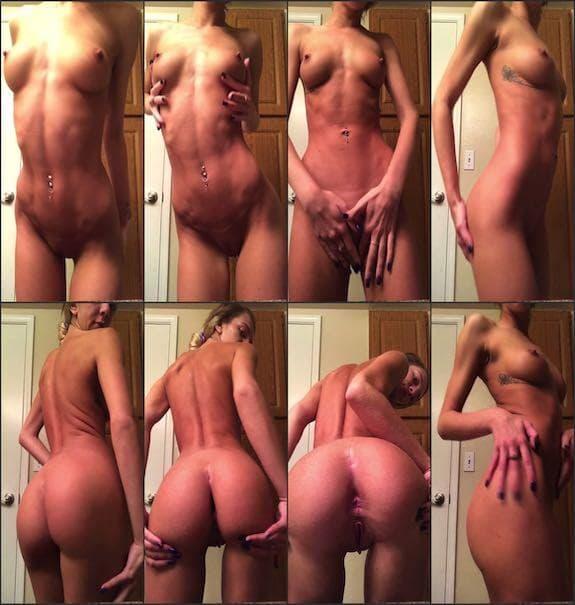 Tiffany Watson - fully naked teasing