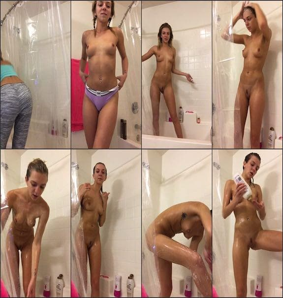 Tiffany Watson - shower time