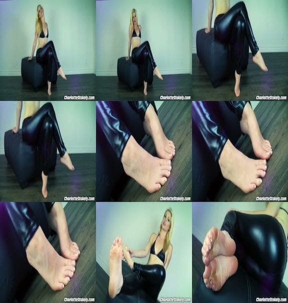 Charlotte Stokely - Foot Domination For Weaklings