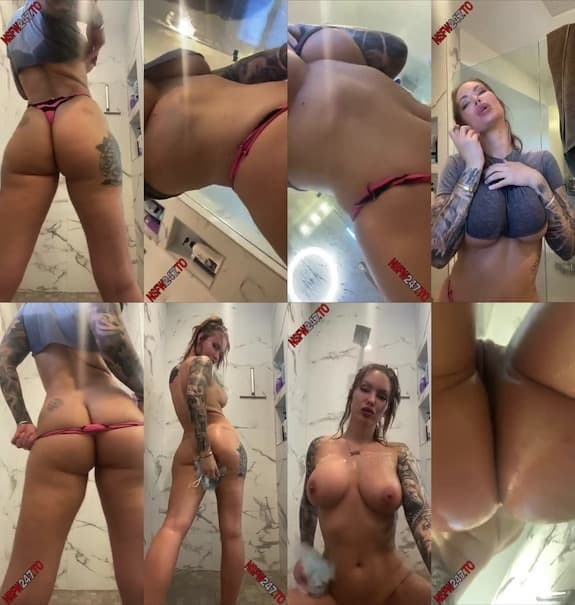 Viking Barbie shower video snapchat premium 2020/04/24