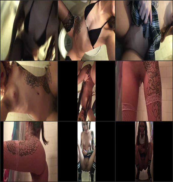 Natasha Grey - peeing 12 times a compilation 2018/05/02
