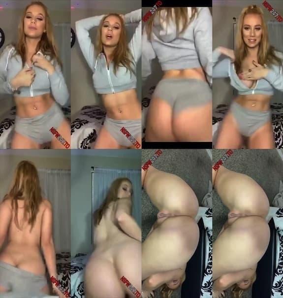 Maddison Morgan striptease snapchat premium 2020/04/29
