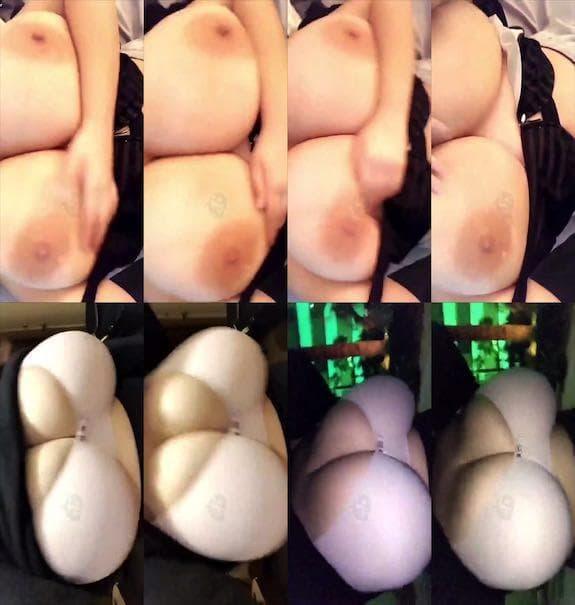 G Cup Baby boobs flashing snapchat premium 2018/12/18