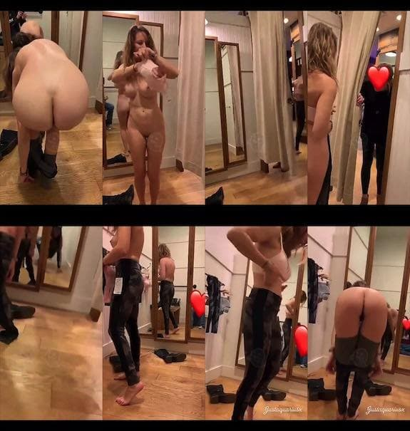 Justaquariusx fitting room naked snapchat premium 2018/12/14