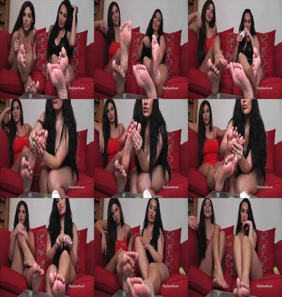 Madam Samantha – Foot Tease small