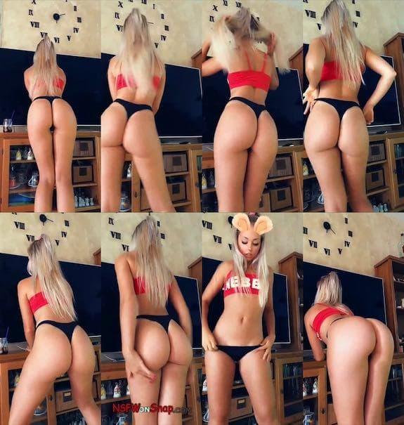 Paola Skye booty twerking snapchat premium 2018/08/17