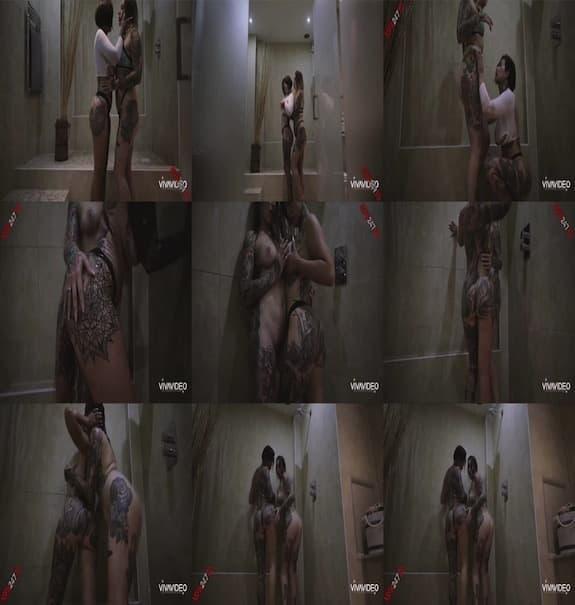 Donna Wild Card - shower video with my friend