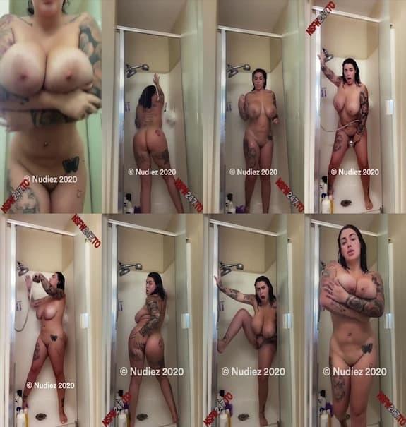 Ana Lorde Omg I love how hard I cum with my shower head snapchat premium 2020/04/12