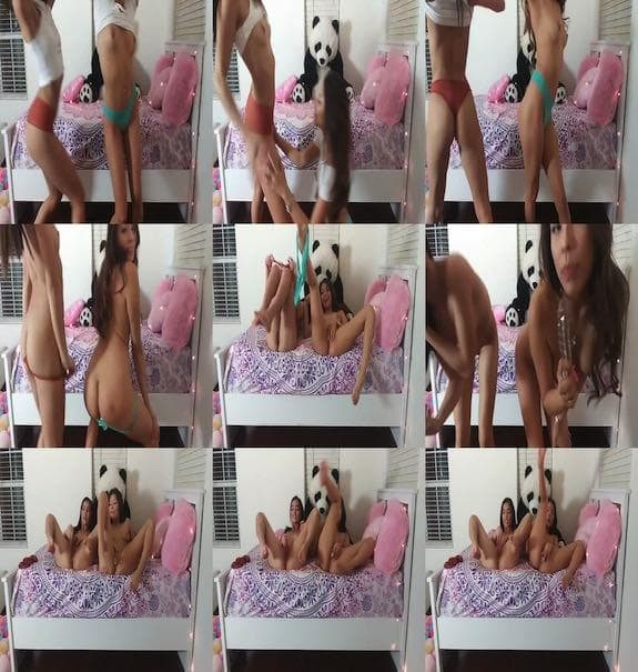 Emily Willis - This is what I do when Im home alone with my BFF Sami Parker