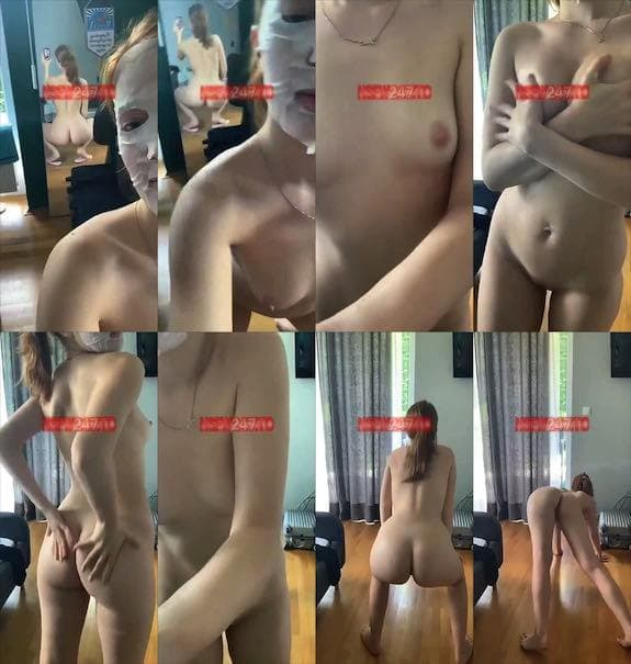 Jia Lissa morning naked tease show for you snapchat premium 2019/06/01