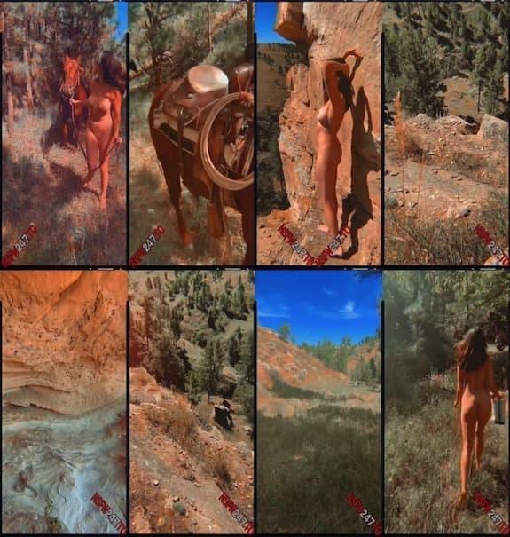 Danika Maia - outdoor fully naked