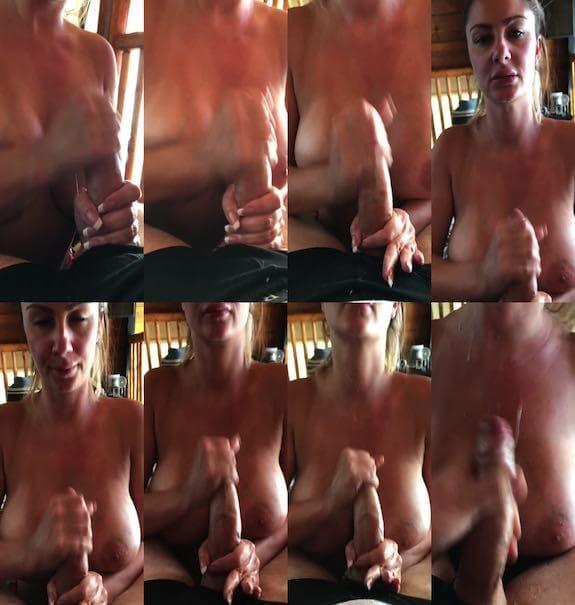 Swedish Bella - The cum shot