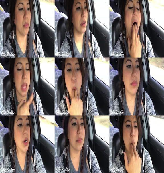 EllieBoulder - ASMR Mouth JOI in the Car