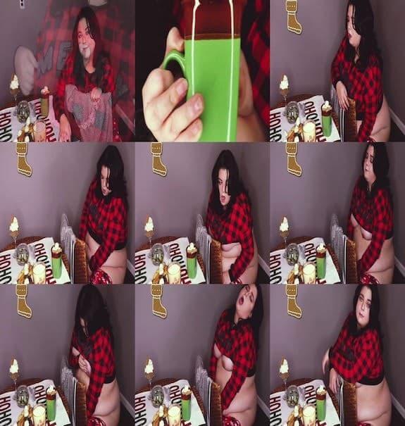 HoneyBunTV - Cozy Cocoa Cum BBW Jiggly Hitachi Cum