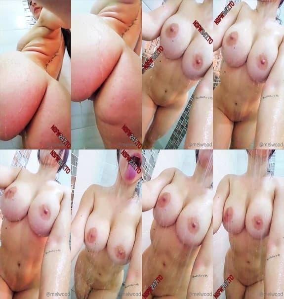 [Club] Melwood - teases you with her big tits and ass in the shower